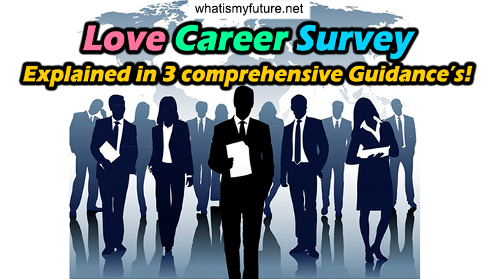 Love Career Survey, Explained in 3 comprehensive Guidance's!